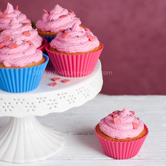 Homemade cupcake (Oxana Denezhkina) Tags: pink wedding party food home cup rose cake vintage studio cakestand square dessert high afternoon shot tea sweet handmade eating chocolate background object plate selection nobody gourmet delicious fairy cupcake sprinkles snack icing iced diet ornate luxury assortment isolated frosting unhealthy array baked gastronomy frosted decorated buttercream fattening fashioned