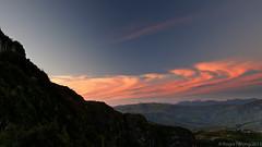 20130225-125-Sunset from Lake Tahune (Roger T Wong) Tags: sunset camp clouds trek nationalpark walk australia hike tasmania np bushwalk tramp wildrivers franklingordonwildriversnationalpark frenchmanscap canonef24105mmf4lisusm canon24105 canoneos6d laketahune