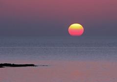 Pastel Sunset (John Ibbotson (catching up!)) Tags: sunset sun beach wales coast ceredigion borth