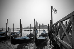 Gondolas (digital_slice) Tags: venice italy canon vintage 350d march kitlens gondola venezia venetie maart 2013