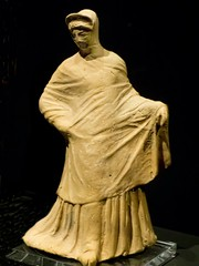Figure of a Veiled Woman Greek 2nd century BCE said to be from Capua, Italy Terracotta (mharrsch) Tags: italy woman female oregon portland greek veiled terracotta cloak figurine britishmuseum statuette capua tunic portlandartmuseum bodybeautiful 2ndcenturybce mharrsch