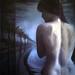 Mujer ligüeri espalda 40 x 50