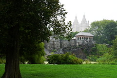 P1140781a  Belvedere Castle, Central Park, New York (autumngold2) Tags: newyorkcity usa centralpark belvederecastle august2012