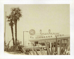 Bob's Big Boy (Nick Leonard) Tags: california old plants signs classic nature beautiful car vintage palms polaroid restaurant losangeles neon nick coffeeshop scan retro palmtrees signage expired shrubs timeless cursive eatery neonsigns expiredfilm downey bobsbigboy packfilm polaroidlandcamera broiler instantfilm type100 epson4490 polaroidfilm polaroidautomatic100 peelapartfilm mexicanfanpalms nickleonard polaroidautomatic100landcamera polaroidsepiafilm expired2009 believeinfilm