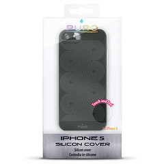 IPC5SBLK (DELPHICO) Tags: new texture 5 cover hoes puro silicone iphone backcover housse infini oneindig silicoon ipc5s