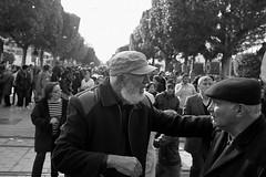 Fuir mais en fuyant... (Many thanks to Gilles Deleuze) (Dlirante bestiole [la posie des goupils]) Tags: hat northafrica tunisia flag tunis demonstration murder tunisie manifestation assassination politicalleader frontpopulaire chokribelad