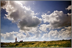 Lighthouse (enjoy cyprus) Tags: camera sky cloud building classic grass weather clouds 35mm canon landscape eos coast cyprus sigma tranquility wideangle handheld f80 fullframe 1ds f8 paphos pafos 2040 canon1ds eos1ds ndgrad sigma2040f28