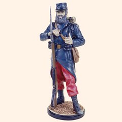 RC110 20 French Infantryman 1914 (Tradition of London) Tags: toy actionfigures toyshop toysoldiers oldtoys 110mm modelsoldiers toyfigures toyminiature traditionoflondon