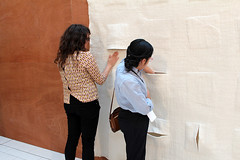 Wall_piece-Sarah-Jennifer (Hope Ginsburg) Tags: wool felt doha vcuq tasmeem