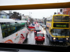 (turgidson) Tags: street ireland dublin 3 cold bus window wet public rain weather lens four lumix prime flooding mainstreet g main transport bad picasa panasonic upstairs deck h micro pancake 20mm publictransport wicklow asph bray dmc thirds severe deluge decker atha inclement coras dublinbus eireann cie f17 m43 doubled primelens gh2 mirrorless busathacliath lumixg corasiompaireireann picasa3 iompair microfourthirds p1120328 20mmf17 20mmf17asph panasonic20mmf17asph panasonicgh2 panasoniclumixdmcgh2 claith