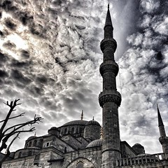 Minare. Istanbul (sibashvili) Tags: turkey minaret istanbul mosque minare uploaded:by=flickrmobile flickriosapp:filter=nofilter
