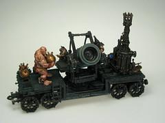 Forgeworld Chaos Dwarf Dreadquake Mortar (T Markham) Tags: fantasy warhammer gamesworkshop forgeworld chaosdwarf