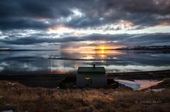 Calm evening (SteinaMatt) Tags: sunset matt landscape iceland ísland steinunn búðardalur steina vesturland hvammsfjörður matthíasdóttir