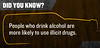 Did You Know? Alcohol is a Gateway Drug (Navy_NADAP) Tags: navy alcohol drugs usnavy alcoholabuse gatewaydrug drinkresponsibly illicitdrugs dontwasteit youveearnedit kwye keepwhatyouveearned