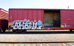 Ghouls (TheHarshTruthOfTheCameraEye) Tags: california 2 metal 30 train graffiti dirty addicted sws northern d30 freight ghoul wh ghouls dirty30 a2m benching freighttraingraffiti addicted2metal