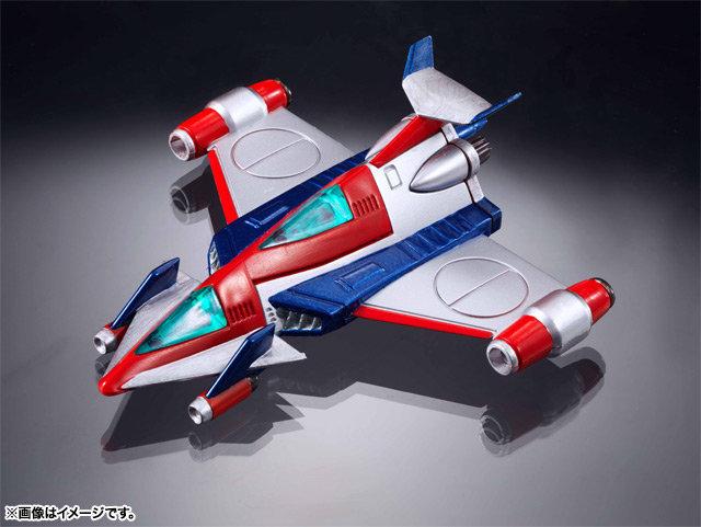BANDAI 超合金魂 GX-62 霹靂日光號