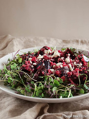 beet salad with quinoa