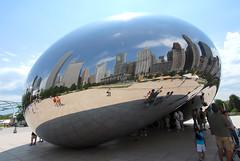 Anish Kapoor Chicago (FaceMePLS) Tags: usa chicago art illinois kunst streetphotography vs kunstwerk nikond200 straatfotografie facemepls noordamerika