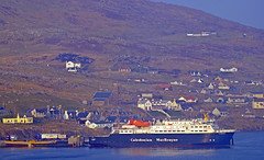 ferry time (bagpii) Tags: sea ferry boats scotland barra calmac
