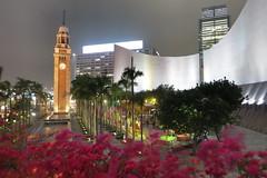 Avenue of Stars (tomosang R32m) Tags: night canon hongkong powershot promenade nightview  kowloon   hdr tsimshatsui s110 victoriaharbour avenueofstars  symphonyoflights   hk2013