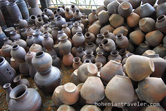 vigan pottery (BohemianTraveler) Tags: old city horse heritage architecture island town site asia pacific district philippines colonial chinese unesco mexican spanish filipino sur vigan ilocos kalesa luzon calesa mestizo