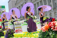 Asian Beauty Queens (shaire productions) Tags: sf sanfrancisco california street people festival festive asian asia image candid picture culture pic parade gathering cultural imagery cherryblossomfestival cherryblossomparade