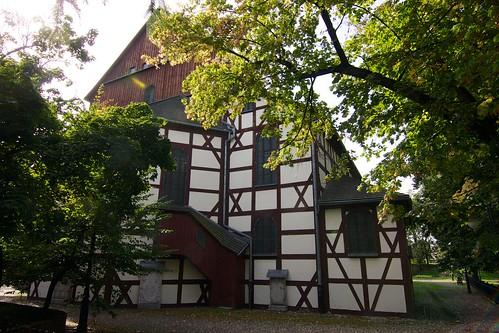Kościół Pokoju w Jaworze od północnego wschodu