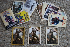Compare all three (DBCooper5) Tags: cards captainamerica props avengers