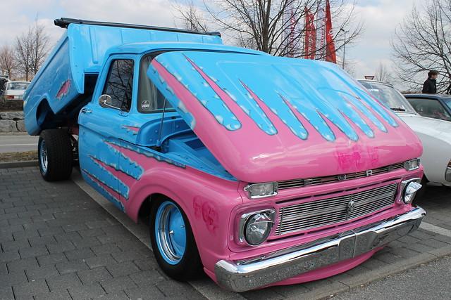 ford f 250 1965 custom pickup truck