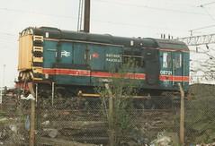 "Red Star Liveried Class 08, 08721 ""Starlet"" (37190 ""Dalzell"") Tags: manchester parcels rods starlet longsight redstar shunter gronk class08 08721 celebrityrepaint"