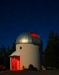 PMO in Moonlight 2bx (Wolfram Burner) Tags: sky moon mountain pine night oregon education university science full observatory astrophotography uo physics astronomy burner uofo universityoforegon academics uoregon wolfram pmo