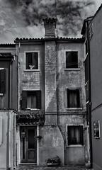 burano 443 (littletinperson) Tags: blackandwhite bw bn monochrome burano veneto venezia venice italia italy burano443 monoburano littletinperson