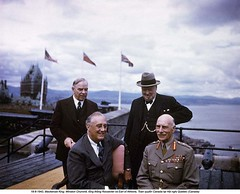 9-1944  Quebec Conference (2) (ngao5) Tags: adult alexanderearlofathlone alliance allied british canada canadian caucasianethnicity conference elderly english european few firstquebecconference four fourpeople franklindelanoroosevelt government governmentminister governmentofficial governorgeneral group groupofpeople groupportrait halflength headofstate leader male meeting men northamerica northamerican people politicalleader portrait president primeminister quebec quebeccity quebecconferences senioradult smallgroupofpeople stlawrenceriver wlmackenzieking war westerneuropeanculture westerneuropeandescent winstonchurchill worldwarii