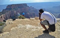 Photographing a photgrapher photographing photographers photographing the Grand Canyon (aakash_gautam) Tags: photographer meta