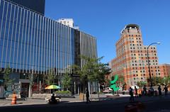 Astor Place (ShellyS) Tags: nyc newyorkcity manhattan buildings eastvillage streets
