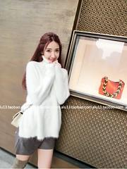 Nalu_66 (Homair) Tags: fuzzy fluffy angora sweater tneck