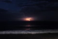 Tormenta en Ribadesella (TerePedro) Tags: ribadesella tormenta rayo mar cantbrico playa santamarina