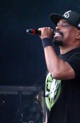 Sen Dog On The Mike (peterkelly) Tags: digital canada northamerica concert festival music musician montreal quebec osheagamusicartsfestival osheaga parcjeandrapeau sendog cypresshill microphone mike hat hiphop mic