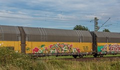 2382_2016_07_10_Haunetal_Unterhaun_BB_1116_059_TAURUS_mit_Autotransportzug_Bad_Hersfeld (ruhrpott.sprinter) Tags: ruhrpott sprinter deutschland germany nrw ruhrgebiet gelsenkirchen lokomotive locomotives eisenbahn railroad zug train rail reisezug passenger gter cargo freight fret diesel ellok hessen haunetal unterhaun db cancantus cfla dispo eloc mrcedispolok bb rhc railpoolrpool railservices sbbc txltxlogistik txla wlb wienerlokalbahnencargo 101 120 151 152 185 193 411 415 428 1266 es64u2 es64f4 ice r5 lokzug taurus eccorail anrufschranke outdoor logo natur graffiti