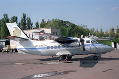 UR-67504 LET L-410UVP Turbolet (pslg05896) Tags: iev ukkk kiev kyiv zhuliany ukraine ur67504 let l410 turbolet