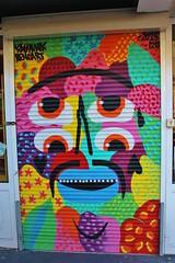 Kashink_7705 rue Cambronne Paris 15 (meuh1246) Tags: streetart paris kashink ruecambronne paris15 rideaumtallique