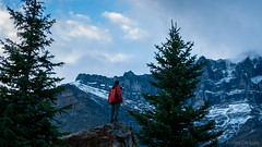 DSC_0140 (Adrian De Lisle) Tags: lakemoraine banffnationalpark banff mountains clouds