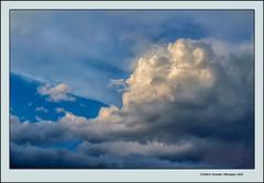 Nvols d'estiu (Summer clouds) (Rafel Ferrandis) Tags: nvols balc hdr eos100d ef70300mml estiu nwn