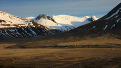 fitting life into suitable places (lunaryuna) Tags: iceland northwesticeland westfjords landscape panorama mountainrange snowcappedmountains homestead settlement spring season seasonalchange lateafternoonsun beauty scale solitude lunaryuna