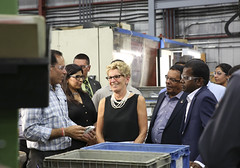 IMG_1112  Premier Kathleen Wynne toured RAM Plastics in Scarborough. (Ontario Liberal Caucus) Tags: scarborough industry thiru smallbusiness business