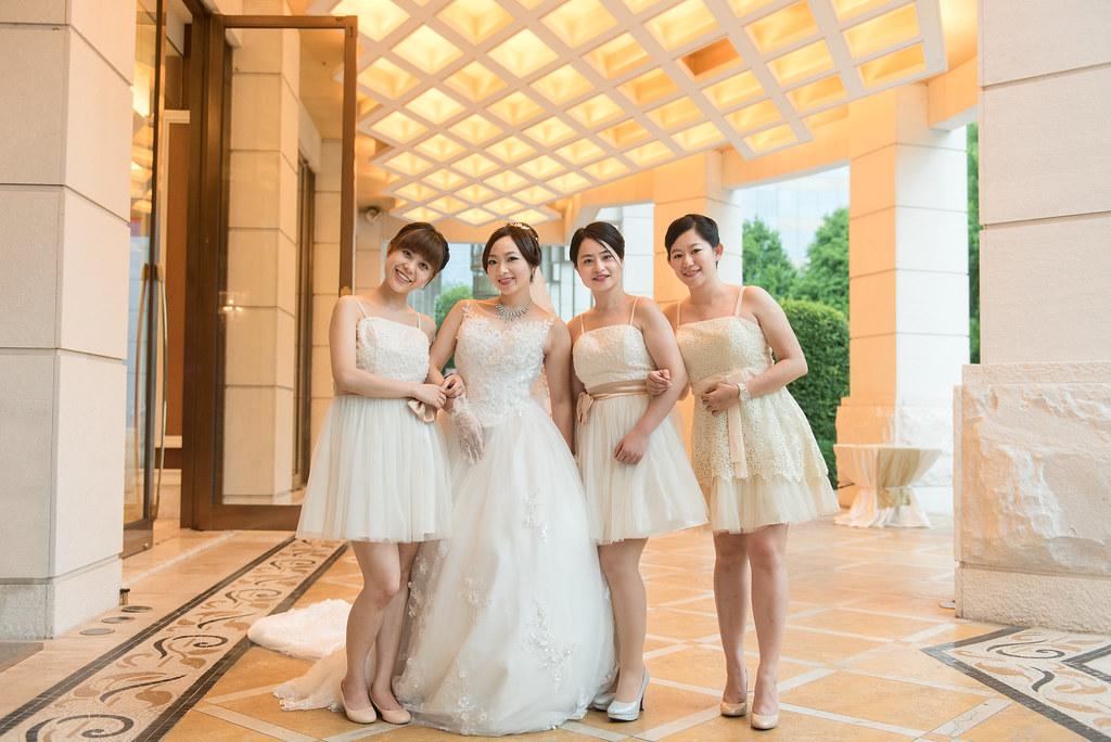 中僑花園飯店婚禮記錄雅琇與紋瑞-56