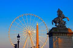 Cheval de Marly place Concorde (Joseph Trojani) Tags: paris placeconcorde concorde cheval statue chevauxdemarly nikon d7000