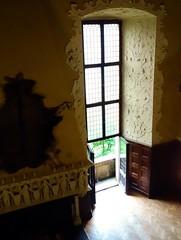 The window in the hall of knights (Jacek Magryta) Tags: jacek window hall knights castle czocha lesna lower sieslia poland light luba polska view