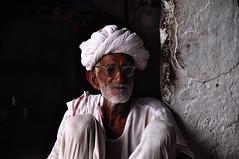 Old man (PiccolaSayuri) Tags: oldman india rajasthan haryana uttarpradesh madhyapradesh delhi mandawa bikaner jaisalmer jodhpur udaipur jaipur agra fathpursikri gwalior orchha khajuraho varanasi incredibleindia hindu temples forts colours people faces