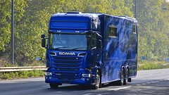 Stephex Motorhome (panmanstan) Tags: scania r580 wagon truck lorry motorhome a63 southcave yorkshire